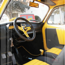 Interni in pelle 500 Abarth
