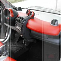 Interni in pelle Smart for Two Cabrio