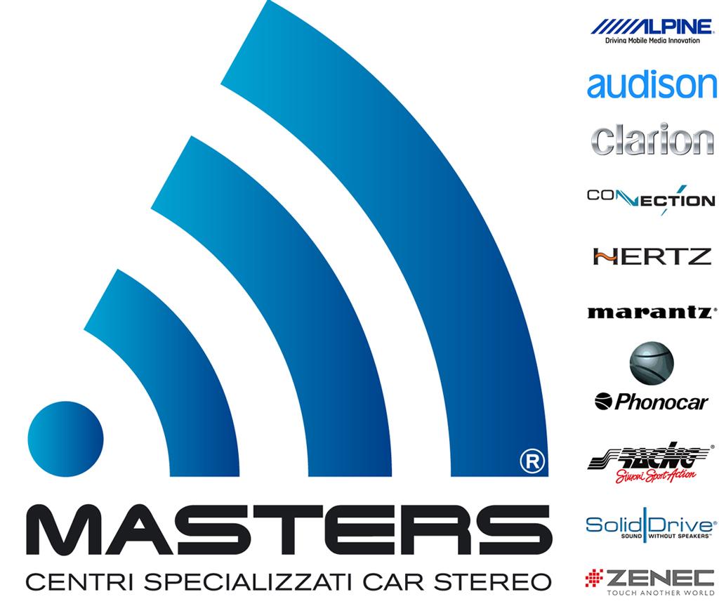 centri specializzati installatori car stereo - centri masters